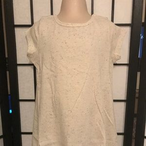 Girl's Gymboree Ivory Confetti Tunic Top NWT